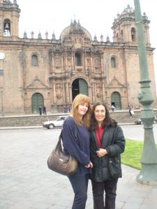 Mary McCarthy Visits Cusco 2011